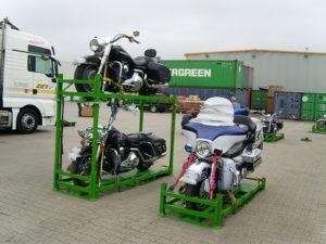 Перевозка мотоцикла в Европу и из Европы в Россию