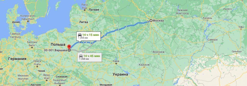 Грузоперевозки в Польшу из России 38
