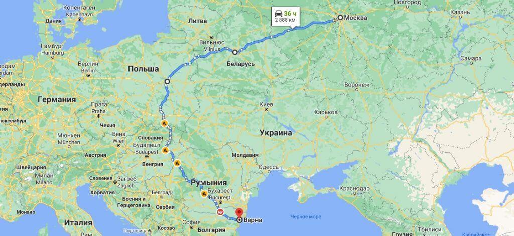 Грузоперевозки в Болгарию из России 38